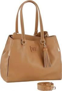 JETTE Shopper ''Logopatch'' camel