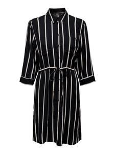 ONLY Kleid schwarz / weiß