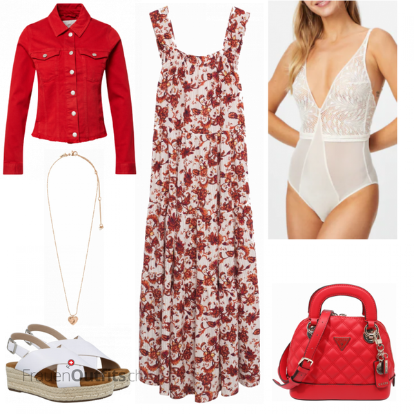 Florales Sommeroutfit FrauenOutfits.ch