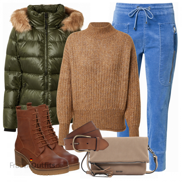 Herbst Outfit in warmen Farben FrauenOutfits.de