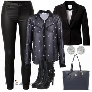 Edgy Businessoutfit FrauenOutfits.de