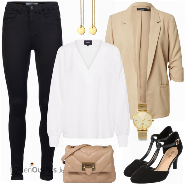 Eleganter Businesslook FrauenOutfits.de