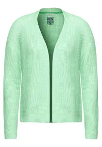 Open vest - bud green