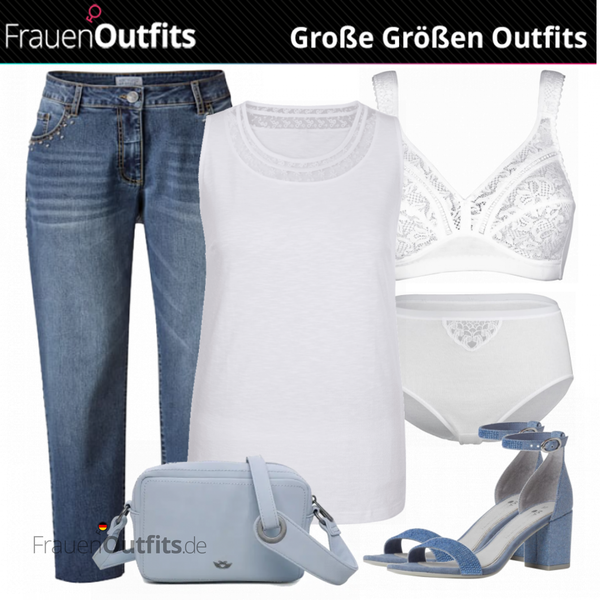 Sommer Outfit für Mollige FrauenOutfits.de