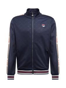 FILA Sweatjacke ''IRODION Track Jacket'' dunkelblau / rot / weiß