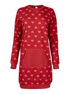 Skiny Nachthemd ''Valentine Special'' rot / hellrot