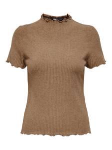 ONLY Shirt ''Emma'' braunmeliert
