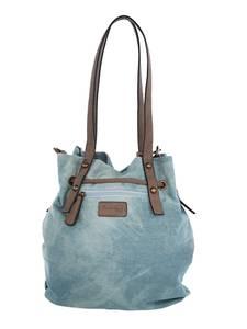 Beuteltasche Taschenherz Hellblau