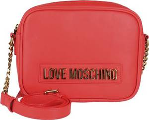 Love Moschino Cossbody Bag mit Label Plate rot
