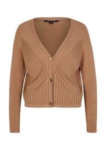 COMMA Strickjacke camel