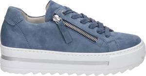 Gabor 66.498.26 Dames Sneakers - Blauw - Maat 38