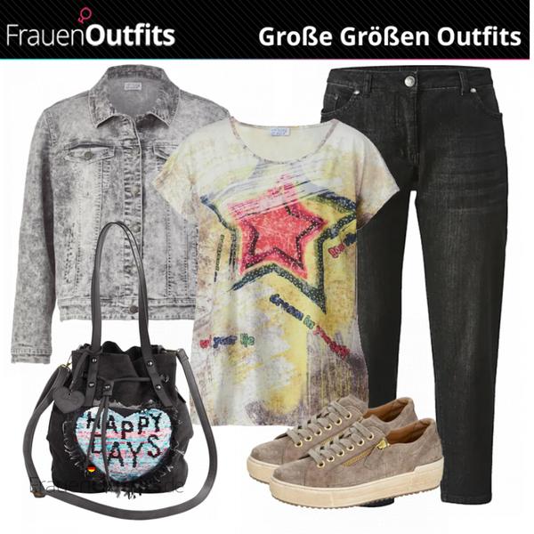 Stylisches   Grosse Größen Outfit FrauenOutfits.de