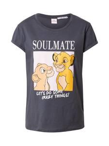 Hailys T-Shirt ''Souly'' dunkelgrau / mischfarben