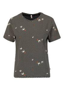 Jersey T-Shirt diamond heart