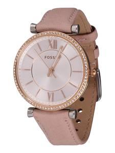 FOSSIL Armbanduhr rosegold / rosa