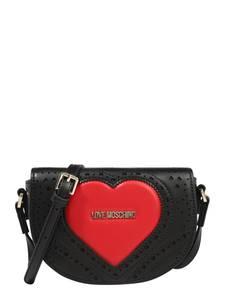 Love Moschino Umhängetasche schwarz / rot
