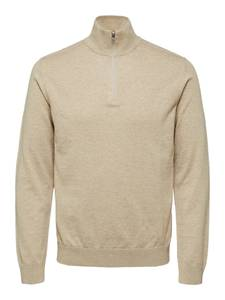 SELECTED HOMME Pullover ''Berg'' beigemeliert