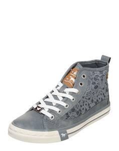 MUSTANG Sneaker ''Macrame'' taubenblau