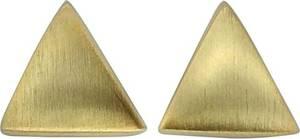 Vivance Ohrstecker 925/- Sterling Silber vergoldet