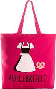 Stoffbeutel in pink für Damen von bonprix