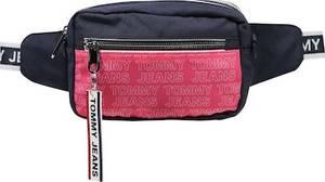 Tommy Jeans Tasche dunkelblau / pinkmeliert / weiß