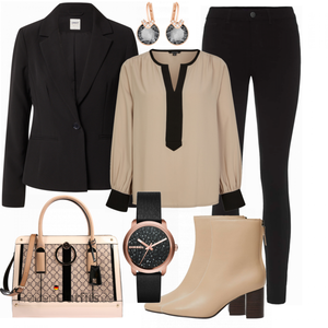 Casual Business Outfit FrauenOutfits.de
