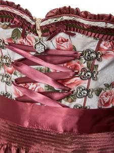 MARJO Dirndl ''Nakoma 58'' pink / beige