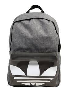 ADIDAS ORIGINALS Rucksack weiß / graumeliert / schwarz