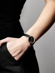 Pilgrim Uhr ''Nerine'' rosé / gold / schwarz