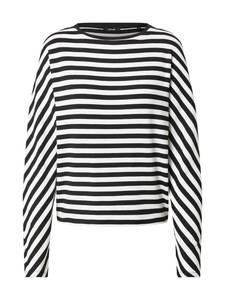 OPUS Pullover ''Sevun'' schwarz / weiß