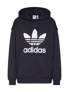 ADIDAS ORIGINALS Sweatshirt schwarz / weiß
