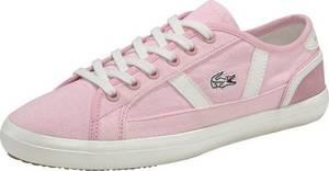 LACOSTE Sneaker ''Sideline'' rosa / rosé