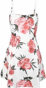 LASCANA ''Scuba'' Kleid rot / weiß