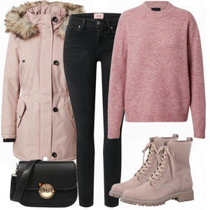 Opvallende winter look VrouwenOutfits.be