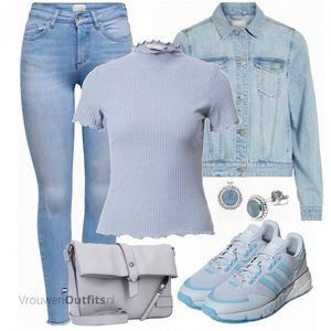 Lichte lente outfits VrouwenOutfits.nl