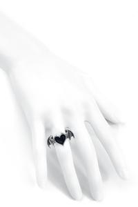 Alchemy Gothic BlackSoul Ring