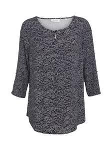 GREYSTONE Bluse schwarz / weiß
