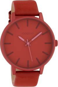 OOZOO Timepieces C10381 Warm Rood Horloge 45mm