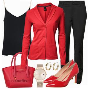 Elegantes Büro Outfit FrauenOutfits.de
