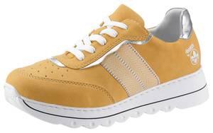 RIEKER Sneaker gelb / silber