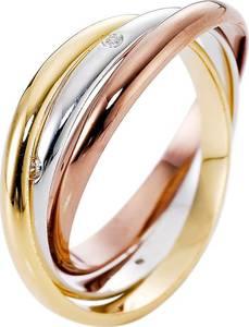 3-reihiger Ring in gold für Damen von bonprix