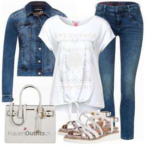 Stilvoller Look für die Freizeit FrauenOutfits.ch