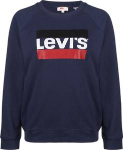 LEVI''S Sweater '' Relaxed Graphic Crew W '' blau
