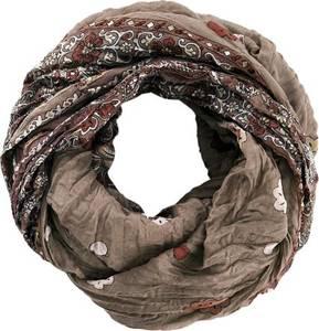 Loop-Schal mit Paisley in braun von bonprix