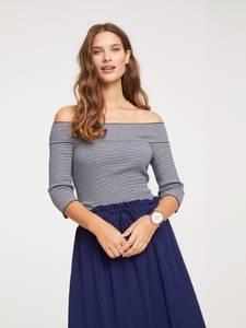 heine Pullover weiß / nachtblau