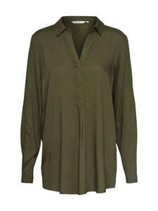 TOM TAILOR Bluse oliv / dunkelgrün