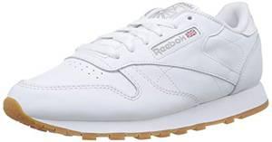Reebok Damen Classic Leather Sneaker, Weiß (Int-White/Gum), 38 EU