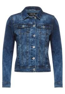 Middelblauwe denim jas - mid blue wash