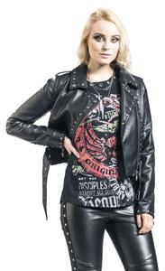 Rock Rebel by EMP Schwarze Kunstlederjacke